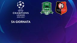 Krasnodar - Rennes. 5a g.