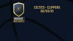 Celtics - Clippers 02/03/21