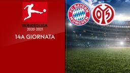 Bayern Monaco - Mainz. 14a g.