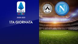 Udinese - Napoli. 17a g.