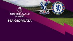 Crystal Palace - Chelsea. 34a g.