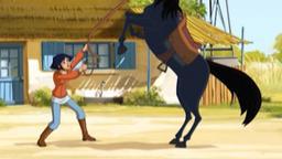 Mistral, cavallo selvatico