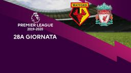 Watford - Liverpool. 28a g.