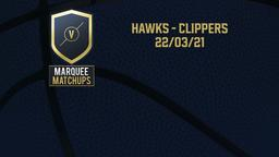 Hawks - Clippers 22/03/21