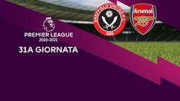 Sheffield United - Arsenal. 31a g.