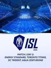Match 1 Day 2: Energy Standard,Toronto Titans, DC Trident, Aqua Centurions