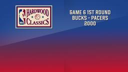Bucks - Pacers 2000. Game 6. 1st Round