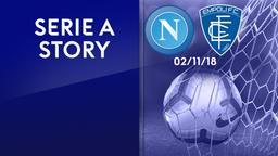 Napoli - Empoli 02/11/18. 11a g.