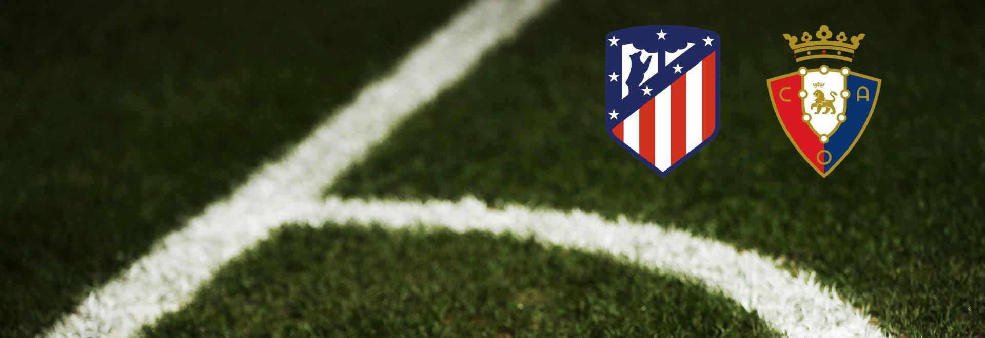 Atletico Madrid - Osasuna. 37a g.