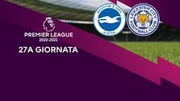 Brighton & Hove Albion - Leicester. 27a g.