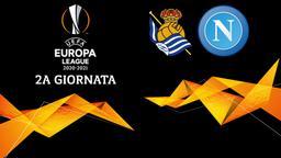 Real Sociedad - Napoli. 2a g.