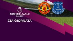 Manchester United - Everton. 23a g.