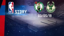 Boston - Milwaukee 03/05/19. East Conf Semis Gara 3