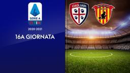 Cagliari - Benevento. 16a g.
