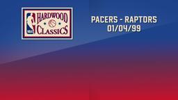 Pacers - Raptors 01/04/99