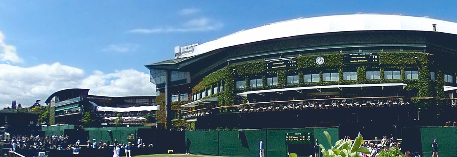 Wimbledon: Clijsters - Farina 2003. Quarti F