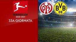 Mainz - Borussia Dortmund. 33a g.
