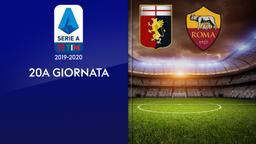 Genoa - Roma. 20a g.