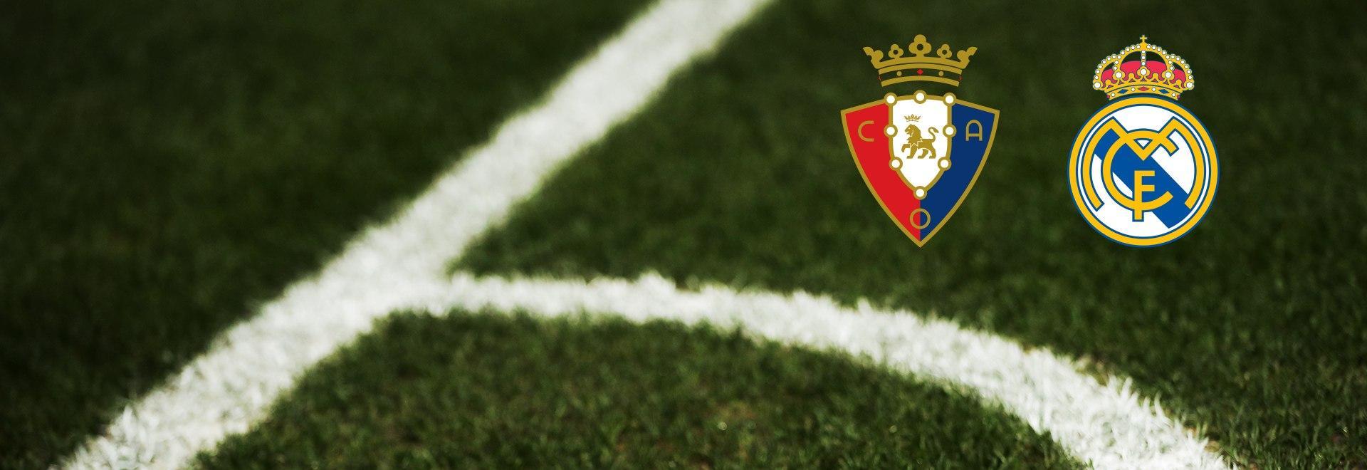 Osasuna - Real Madrid. 23a g.