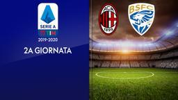 Milan - Brescia. 2a g.