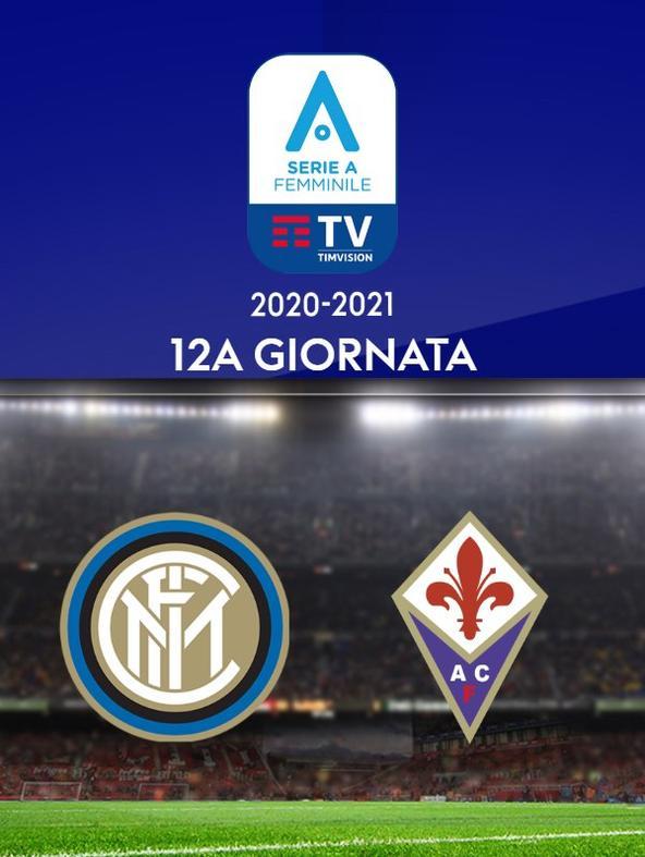 Serie A F: Inter - Fiorentina