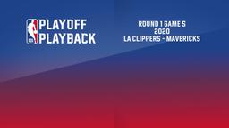 2020: LA Clippers - Mavericks. Round 1 Game 5