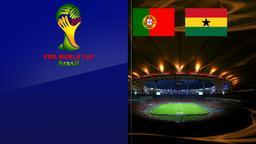 Portogallo - Ghana. Gruppo G. 3a giornata
