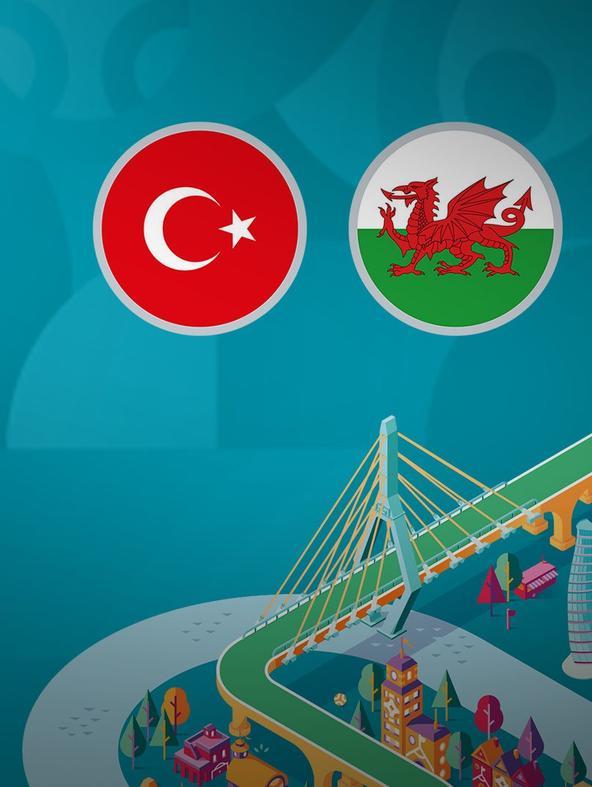 Turchia - Galles. 2a g. Gruppo A