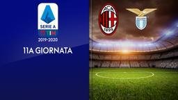 Milan - Lazio. 11a g.