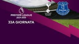 Tottenham - Everton. 33a g.