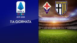 Fiorentina - Parma. 11a g.