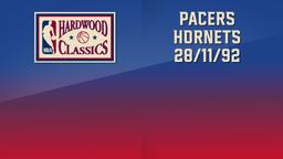 Pacers - Hornets 28/11/92