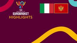 Italia - Montenegro