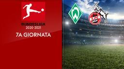 Werder Brema - Colonia. 7a g.