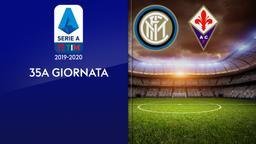 Inter - Fiorentina. 35a g.