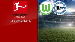 Wolfsburg - Arminia Bielefeld. 5a g.