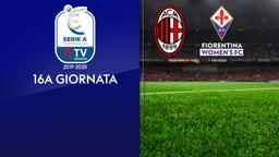 Milan - Fiorentina. 16a g.