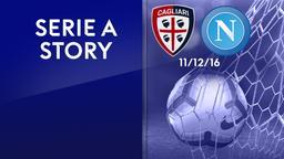 Cagliari - Napoli 11/12/16. 16a g.