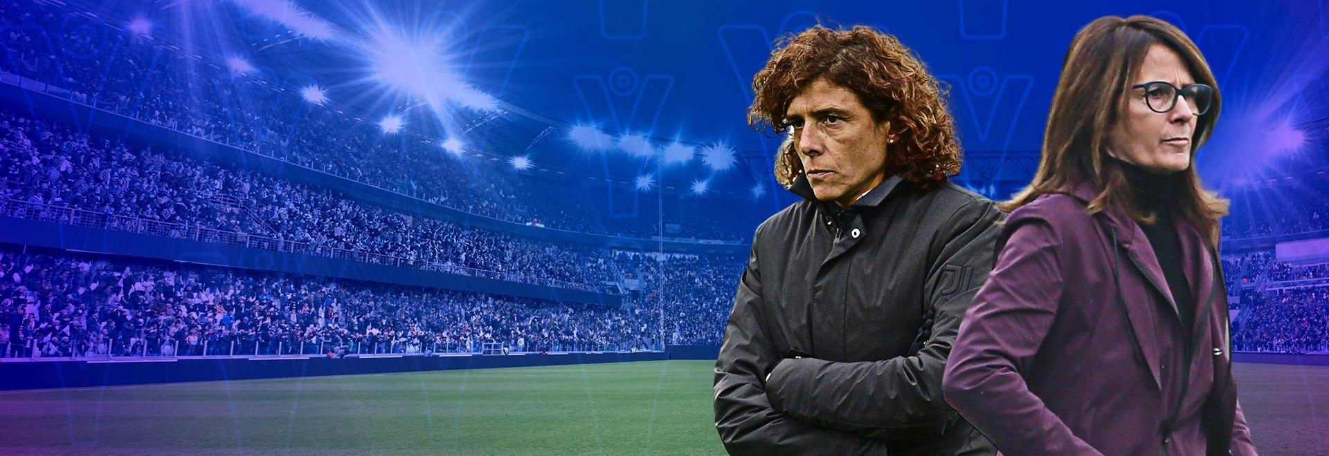 Juventus - Roma. 1a semifinale