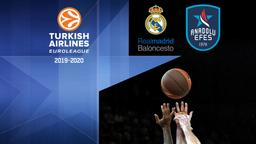 Real Madrid - Anadolu Efes. 21a g.