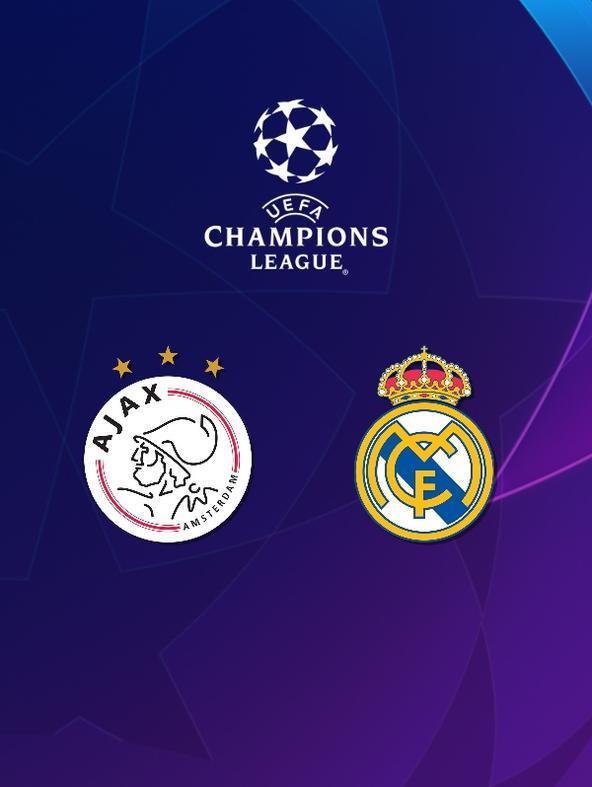 Ajax - Real Madrid. Ottavi. Andata