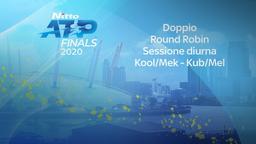 Koo/Mek - Kub/Mel. Doppio. Round Robin. Sessione diurna