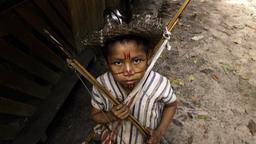 Vanuatu, la bambina di Ambrym