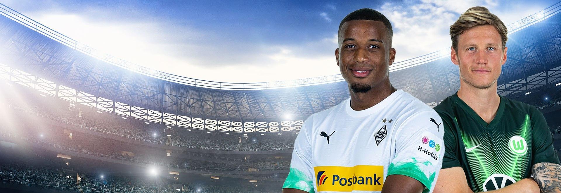 Borussia M. - Wolfsburg. 32a g.