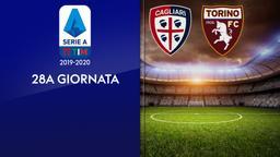 Cagliari - Torino. 28a g.