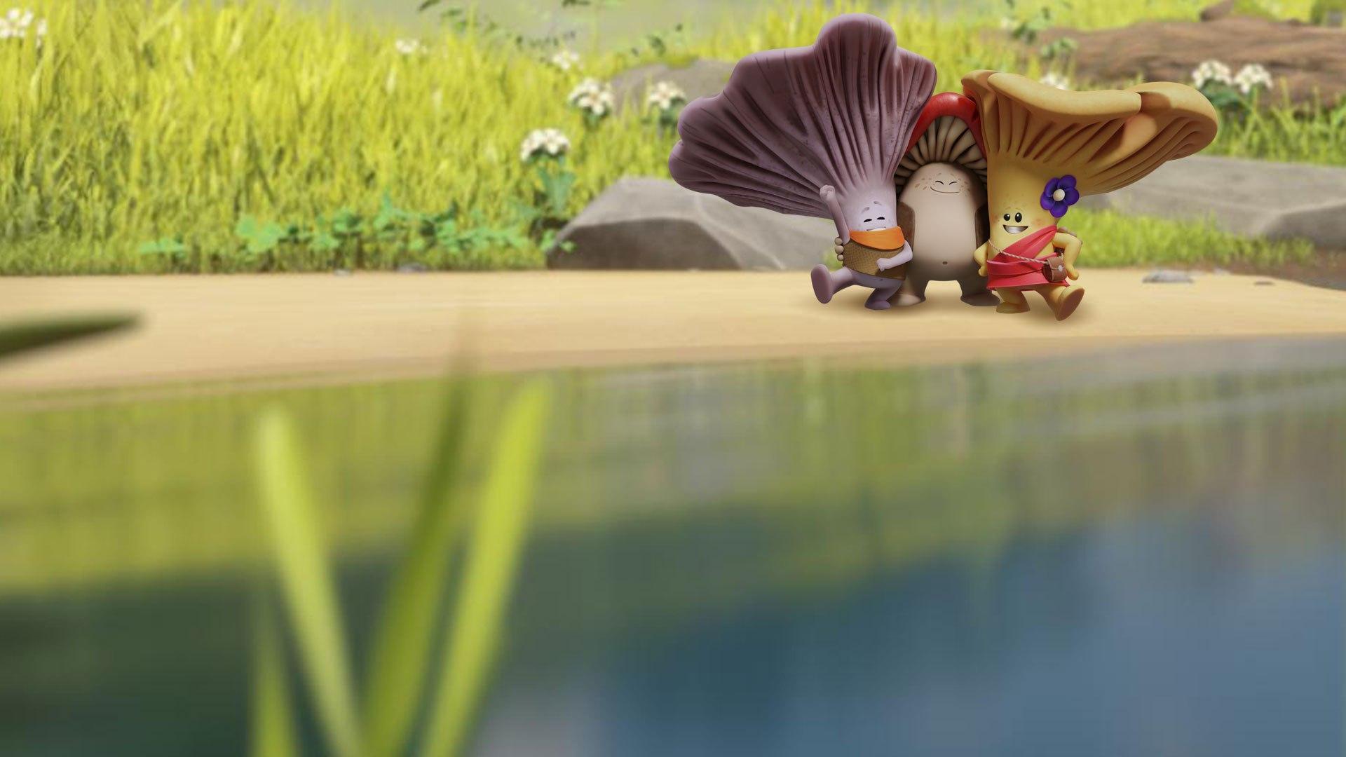 Boomerang Mico e i FuFunghi