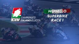 Superbike Mugello. Race 1