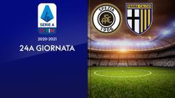Spezia - Parma. 24a g.
