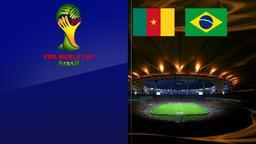 Camerun - Brasile. Gruppo A. 3a giornata