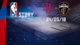 Houston - Golden State 24/05/18. Playoff. Western Conference. Finals Gara 5